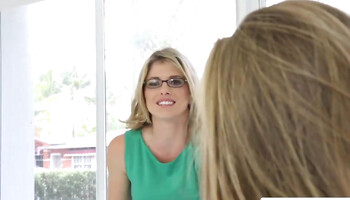 Cory Chase & Roxy Nicole are two aroused blonde lezzies