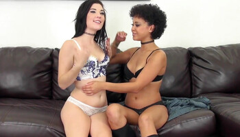 Mia Austin & Jenna Reid masturbate together using the magic wand