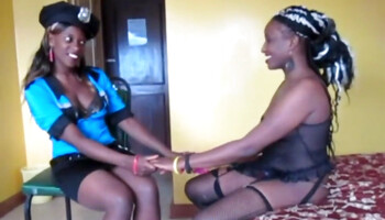 Nubian queens share the same passion for girl-on-girl intercourse