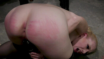 BDSM fantasy comes true for the blonde lesbian