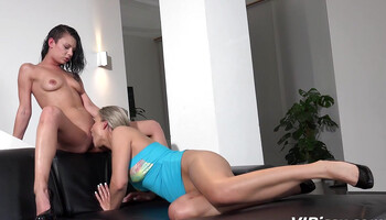 Depraved babes are pissing on each other while making love